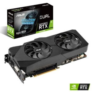 ASUS GEFORCE RTX 2060 SUPER™ EVO Advanced edition 8GB GDDR6 with two powerful Axial-tech fans for AAA gaming performance and ray tracing-0