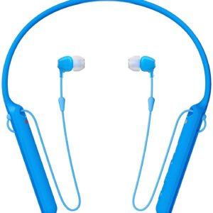 Sony C400 Wireless Behind-Neck in Ear Headphone Blue (WIC400/BL) (100% New and Original) (Packing Damage Only)-0