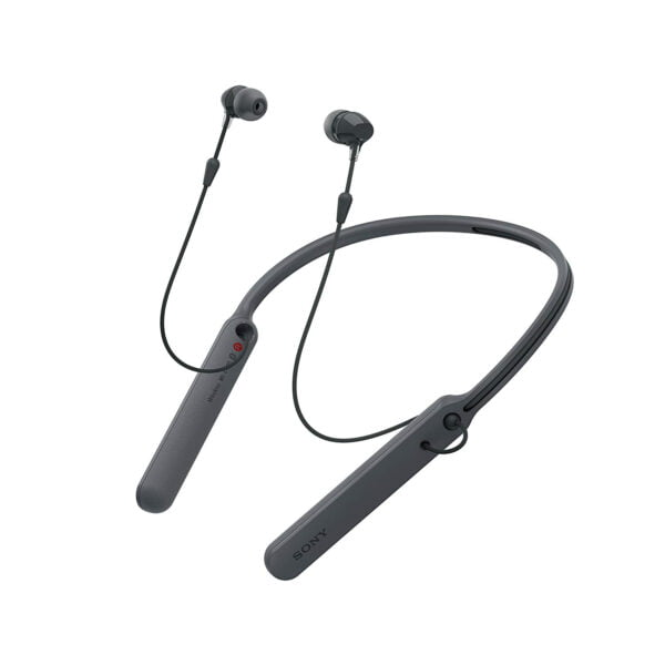 Sony C400 Wireless Behind-Neck in Ear Headphone Black (WIC400/B) (100% New and Original) (Packing Damage)-9148