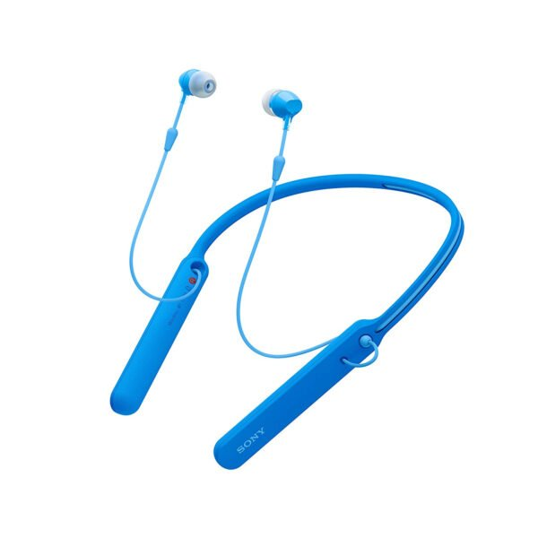 Sony C400 Wireless Behind-Neck in Ear Headphone Blue (WIC400/BL) (100% New and Original)-9162