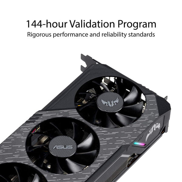 ASUS TUF Gaming X3 Radeon™ RX 5700 XT OC edition 8GB GDDR6 is built for durability and performance at 1440p.-9227