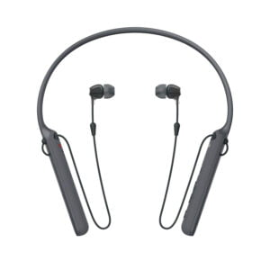Sony C400 Wireless Behind-Neck in Ear Headphone Black (WIC400/B) (100% New and Original) (Packing Damage)-0