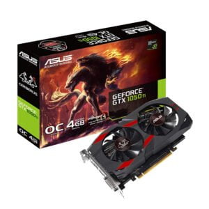 Asus NVIDIA Cerberus GeForce GTX 1050 Ti 4GB OC Edition GDDR5 Gaming Graphics Card (Cerberus-GTX1050Ti-O4G) 4 GB GDDR5 Graphics Card-0