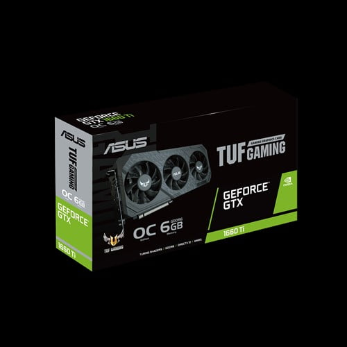 ASUS TUF Gaming X3 GeForce® GTX 1660 Ti OC edition 6GB GDDR6 rocks high refresh rates for an FPS advantage without breaking a sweat.-9250