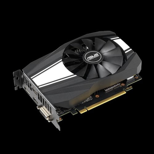ASUS Phoenix GeForce® GTX 1660 Ti OC edition 6GB GDDR6 rocks high refresh rates for an FPS advantage without breaking a sweat.-9216