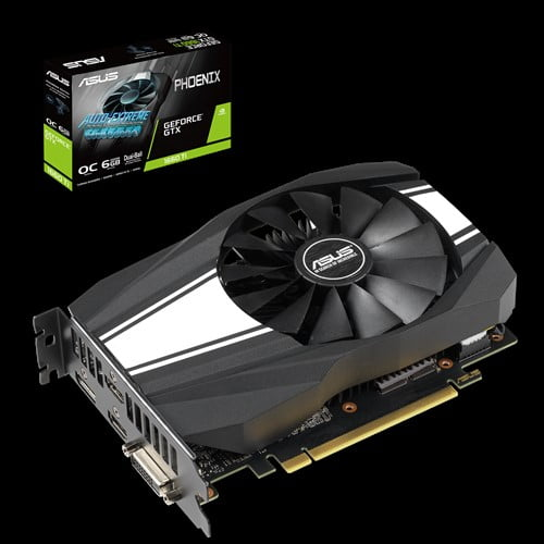 ASUS Phoenix GeForce® GTX 1660 Ti OC edition 6GB GDDR6 rocks high refresh rates for an FPS advantage without breaking a sweat.-0