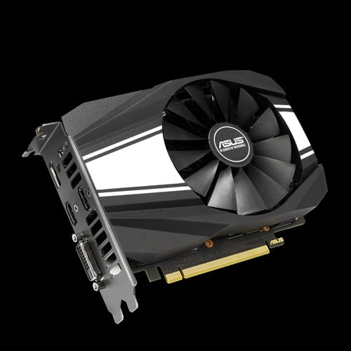 ASUS Phoenix GeForce® GTX 1660 Ti OC edition 6GB GDDR6 rocks high refresh rates for an FPS advantage without breaking a sweat.-9219