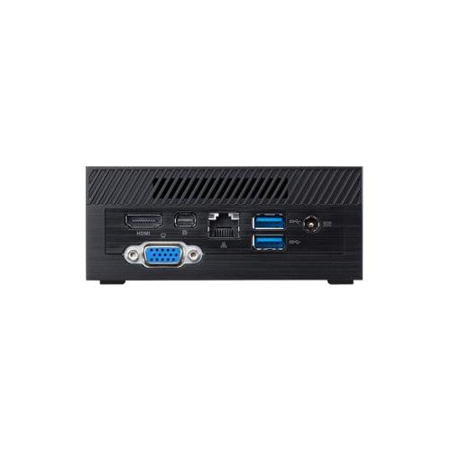 ASUS PN40 Ultra-Compact Mini PC with Intel Celeron N4000 Processor/Intel UHD Graphics 600 / DDR4 RAM/Dual Storage / 4K UHD Support/USB 3.1 Gen 1 Type-C (PN40-BBC203MV)(RAM, M.2 Storage not Included) Black-9319