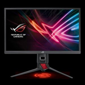 Asus ROG Strix XG248Q Gaming Monitor – 24 inch (23.8 inch viewable) FHD (1920x1080), Native 240Hz, 1ms, G-SYNC Compatible, Adaptive-Sync(FreeSync™), Asus Aura Sync-0