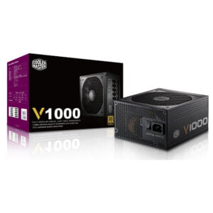 Cooler Master V1000, Full Modular 80+ Gold Certified 1000W Power Supply, 10 Year Warranty-0