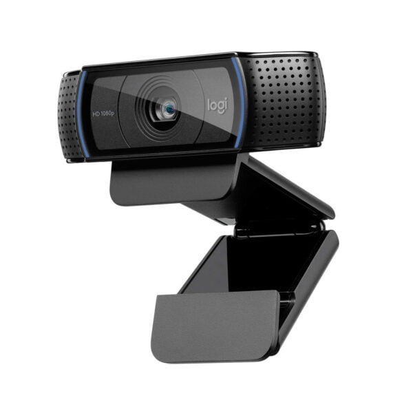 Logitech C920 HD PRO Webcam,1080P Widescreen Video Calling And Recording-9621