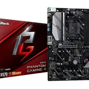 ASRock X570 Phantom Gaming 4 ATX Motherboard for AMD AM4 CPUs-0