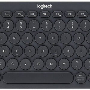 Logitech K380 Multi-Device Bluetooth Keyboard (Dark Grey)-0