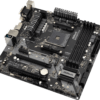 ASRock MicroATX Motherboard (B450M PRO4)-9555