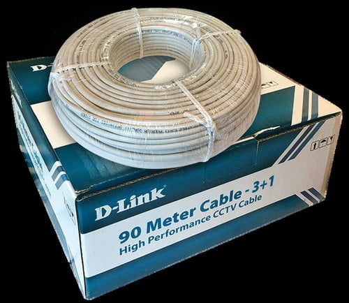 D-Link High Performance CCTV 3 and 1 Cable (180 m)-0