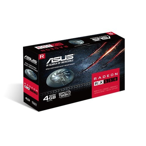 ASUS Radeon RX 550 4GB GDDR5 is the best for compact PC build-0