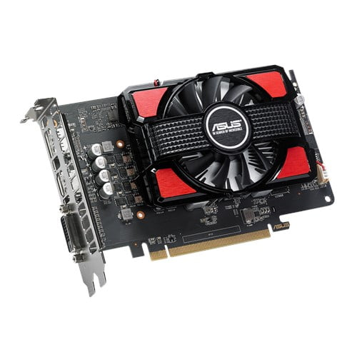 ASUS Radeon RX 550 4GB GDDR5 is the best for compact PC build-9403