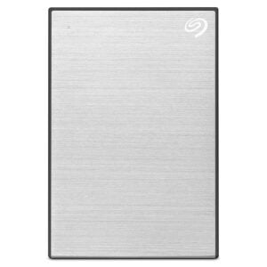 Seagate Backup Plus Portable 4 TB External Hard Drive HDD – Silver USB 3.0 for PC Laptop and Mac-0