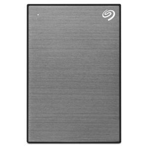 Seagate Backup Plus Portable 4 TB External Hard Drive HDD – Gray USB 3.0 for PC Laptop and Mac-0