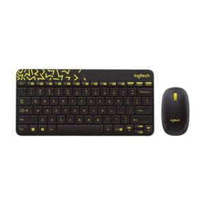 Logitech MK240 NANO Mouse and Keyboard Combo Black Color-0