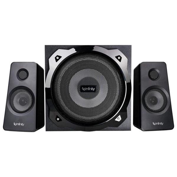 Infinity (JBL) Octabass 410 Deep Bass 4.1 Channel Multimedia Speaker (200 Watts Peak Output) (Same as Hardrock)-9827