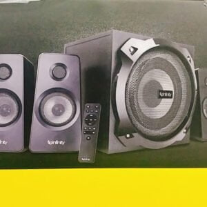 Infinity (JBL) Octabass 410 Deep Bass 4.1 Channel Multimedia Speaker (200 Watts Peak Output) (Same as Hardrock)-0