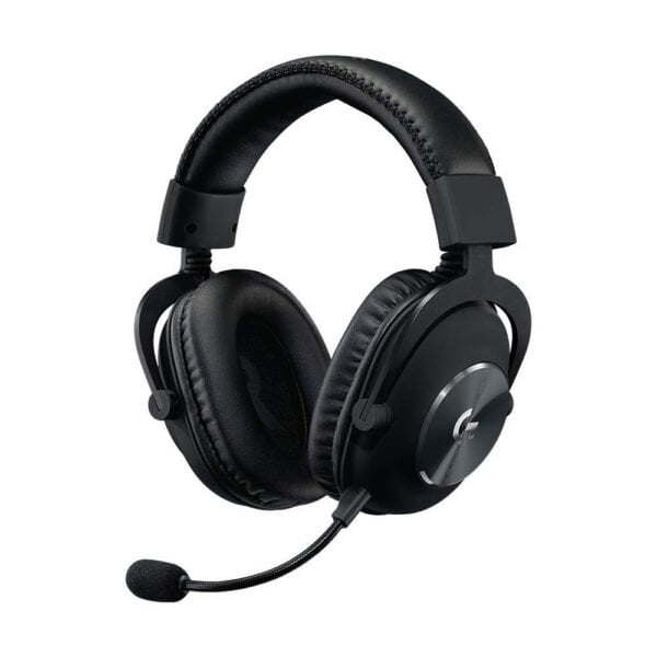 Logitech G PRO X Gaming Headset with Blue VO!CE, DTS Headphone:X 7.1 and 50 mm PRO-G Drivers (for PC, PS4, Switch, Xbox One, VR) - Black-0