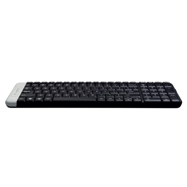 Logitech K230 Compact Wireless Keyboard for Windows, 2.4GHz Wireless with USB Unifying Receiver, Space-Saving Design, 2-Year Battery Life, PC/Laptop- Black-9935