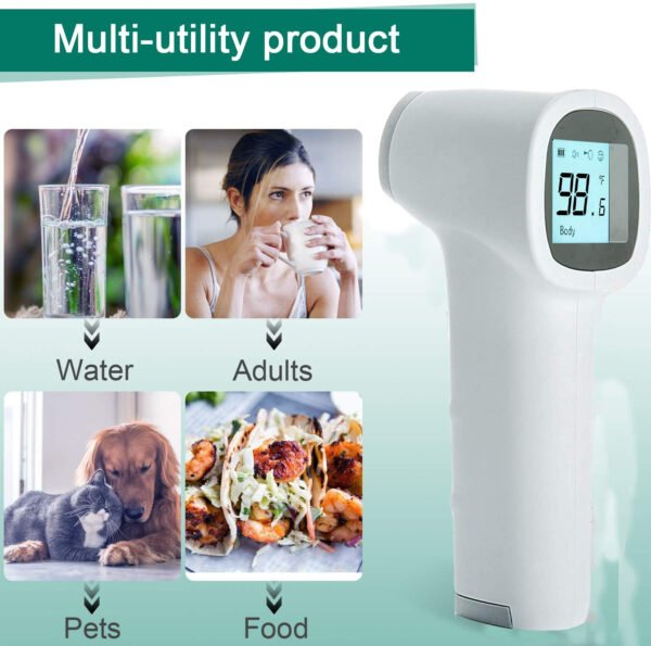 Zoook Infrared Temperature Forehead Medical Digital Non Contact Infrared (IR) Thermometer-9897