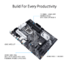 Asus PRIME Z490-P Intel® Z490 (LGA 1200) ATX motherboard with dual M.2, 11 DrMOS power stages, 1 Gb Ethernet, HDMI, DisplayPort, SATA 6Gbps, USB 3.2 Gen 2, Thunderbolt™ 3 support, and Aura Sync RGB Lighting-9852