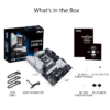 Asus PRIME Z490-A OverviewSpecificationsGallerySupportIntel® Z490 (LGA 1200) ATX motherboard with dual M.2, 14 DrMOS power stages, HDMI, DisplayPort, SATA 6 Gbps, Intel® 2.5Gb Ethernet, USB 3.2 Gen 2 Type-C®, Thunderbolt™ 3 support, and Aura Sync RGB ligh-9844