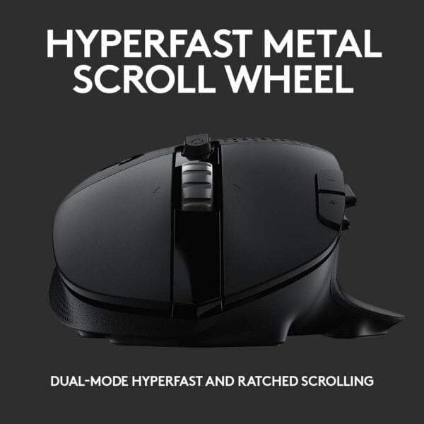 Logitech G604 Lightspeed Wireless Gaming Mouse-10011