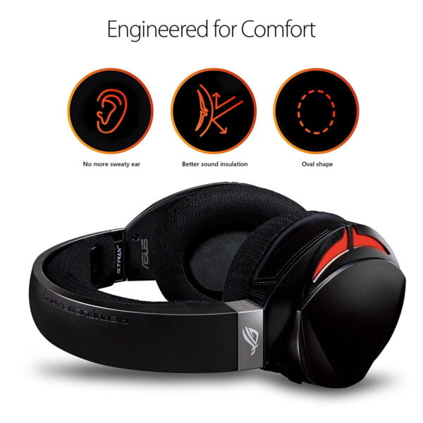 ASUS ROG Strix Fusion 300 Virtual 7.1 LED Gaming Headset with Microphone for PC/Mobile/Console-10028