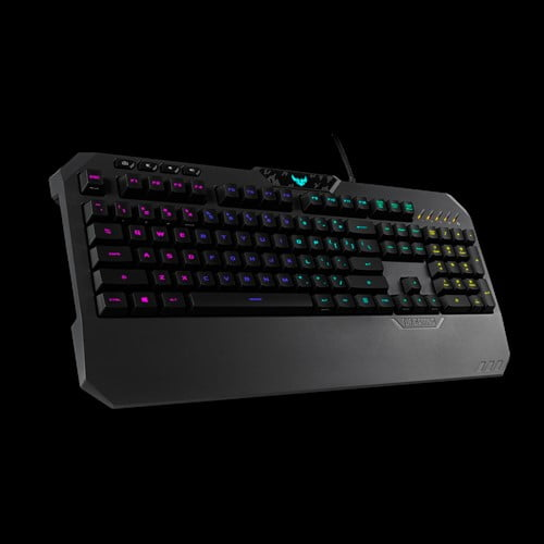 ASUS TUF Gaming K5 RGB Keyboard with Tactile Mech-Brane Key switches, Specialized Coating for Extended Durability, Spill-Resistance and Aura Sync Lighting-10038