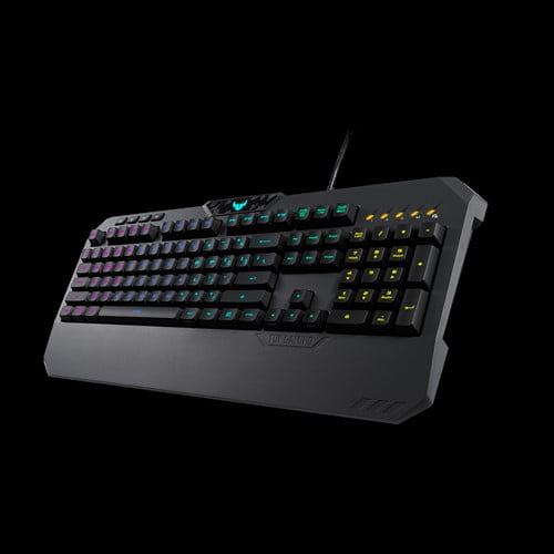 ASUS TUF Gaming K5 RGB Keyboard with Tactile Mech-Brane Key switches, Specialized Coating for Extended Durability, Spill-Resistance and Aura Sync Lighting-10040