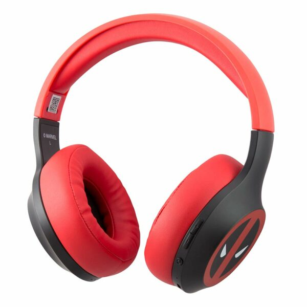 Marvel Dead Pool Over The Ear Wireless Headphone (2)
