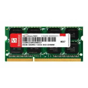 Simmtronics 4GB DDR3 Laptop RAM 1333 MHZ
